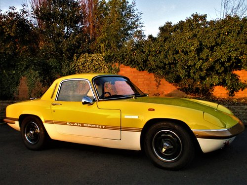 1972 Lotus Elan Sprint FHC SOLD (picture 1 of 6)