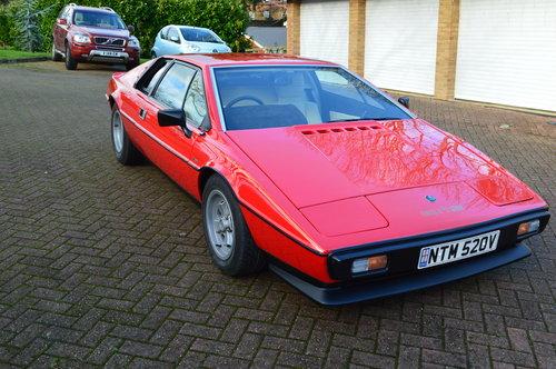 1980 Lotus Esprit S2.2 SOLD (picture 1 of 6)
