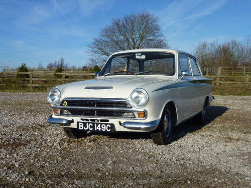 1965 An original Lotus Cortina MK 1  For Sale (picture 1 of 6)