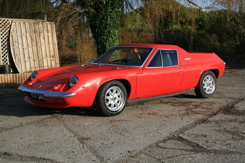 1973 Lotus Europa Twin Cam SOLD (picture 1 of 6)