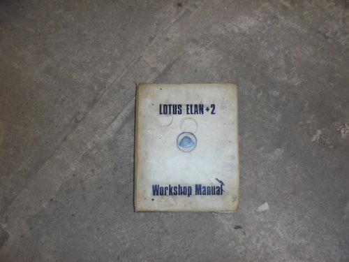 Lotus Elan +2 Worshop Manual  For Sale (picture 1 of 1)