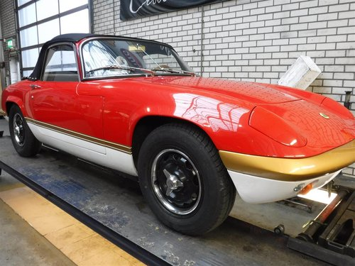 Lotus Elan S4 Sprint convertible 1971 For Sale (picture 2 of 6)