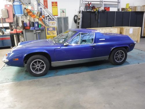 1974 Lotus Europa Twin Cam blue For Sale (picture 1 of 6)