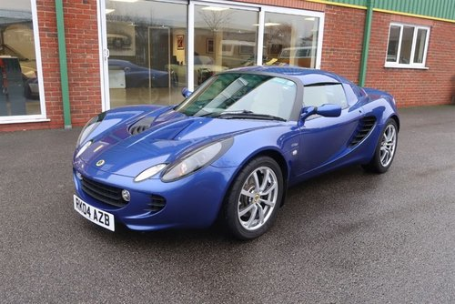 2004 Lotus Elise S2 111S 160BHP in Magnetic Blue For Sale (picture 1 of 6)