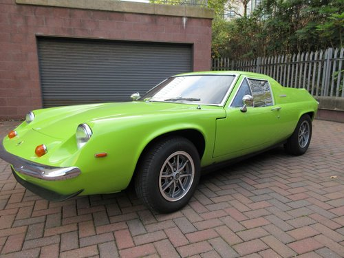 1971 Lotus Europa Twin Cam fully restored £28,000 SOLD (picture 1 of 6)
