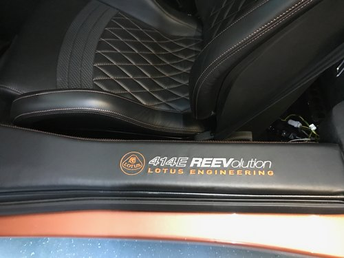 Lotus Evora 414e Hybrid Electric Car One of One For Sale (picture 3 of 6)