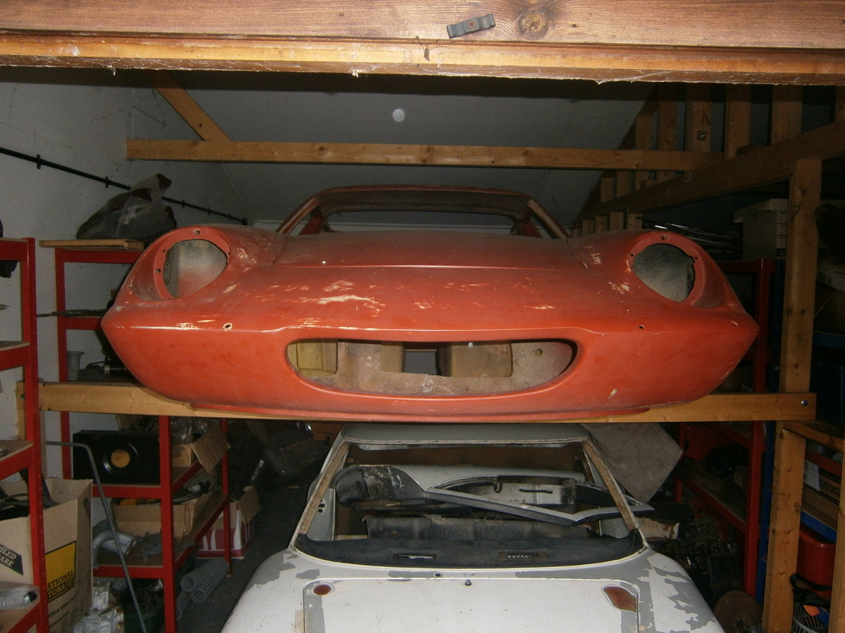 1968 LOTUS EUROPA TYPE 54 S1 1/2 RESTORATION PROJECT SPECIAL SOLD For Sale (picture 1 of 3)