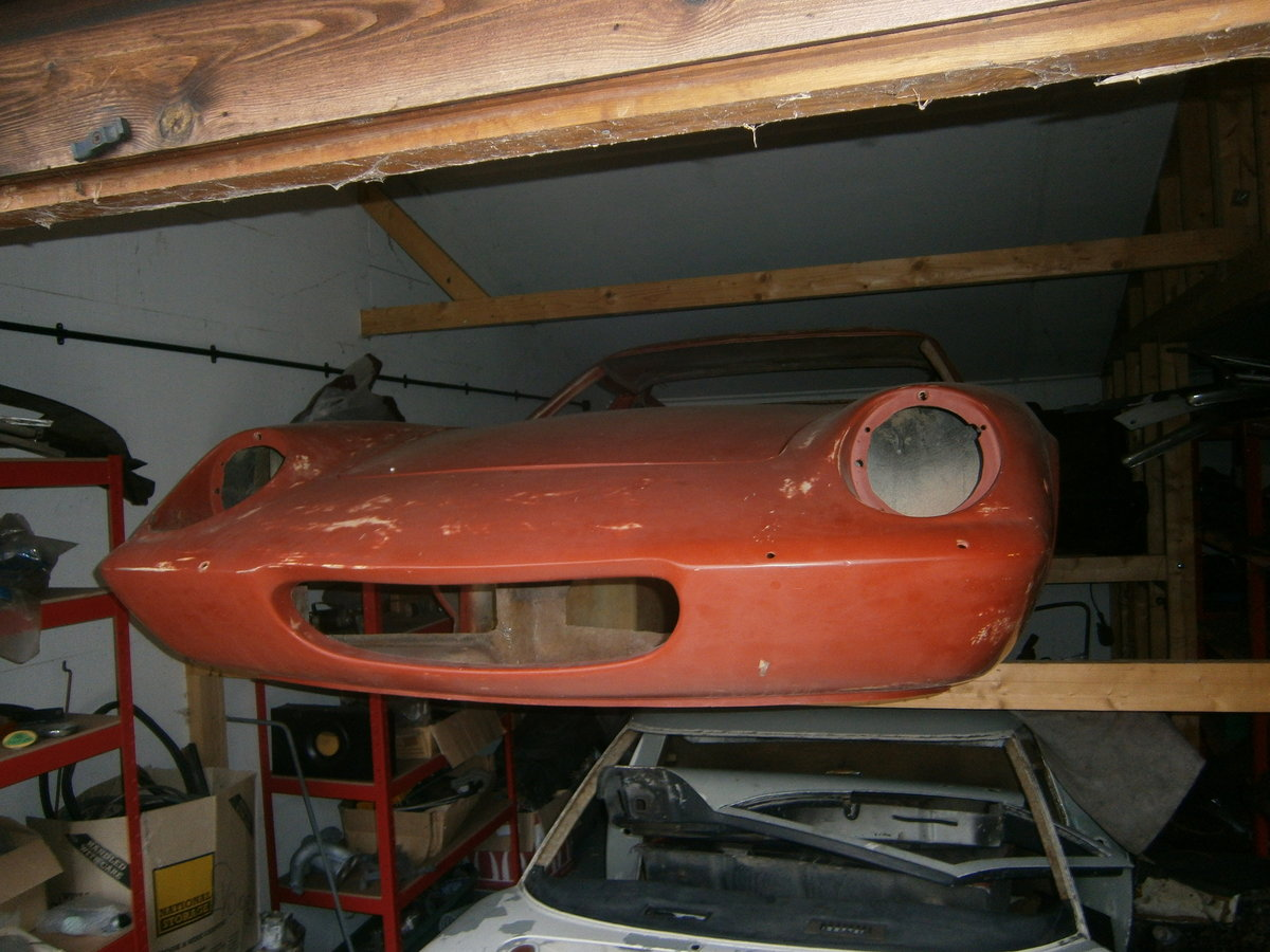 1968 LOTUS EUROPA TYPE 54 S1 1/2 RESTORATION PROJECT SPECIAL SOLD For Sale (picture 2 of 3)