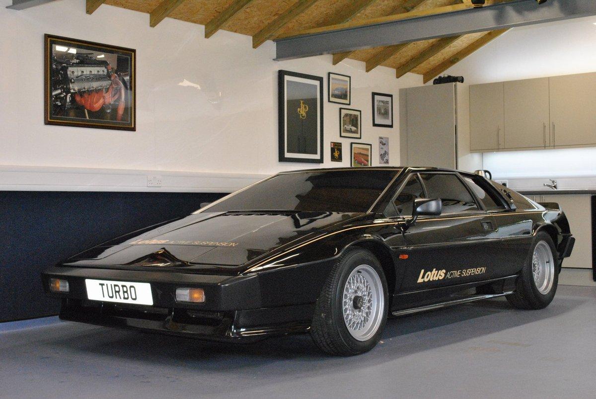 1980 Lotus Esprit Dry Sump Active Suspension / 001 Essex For Sale (picture 1 of 4)