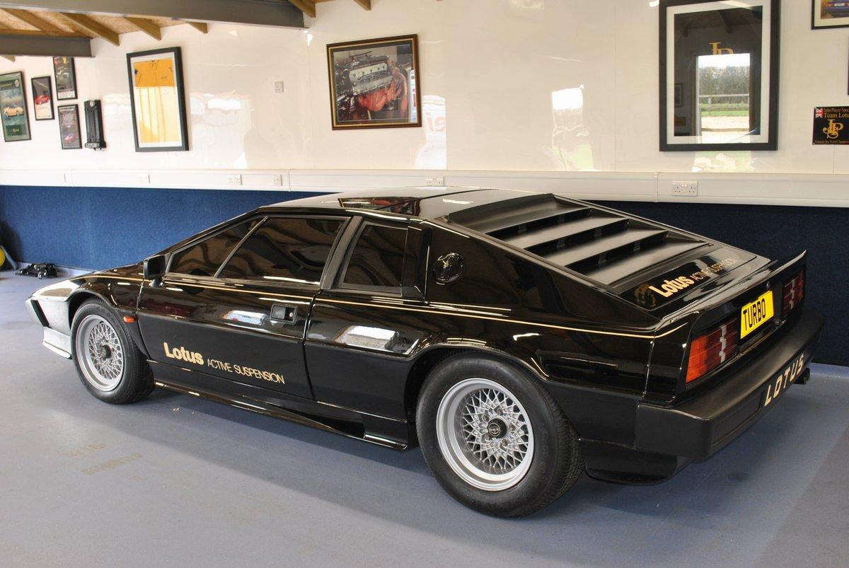 1980 Lotus Esprit Dry Sump Active Suspension / 001 Essex For Sale (picture 4 of 4)