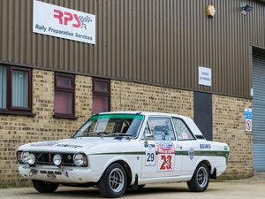 1967 2.0 Lotus Cortina Classic Rally Car For Sale