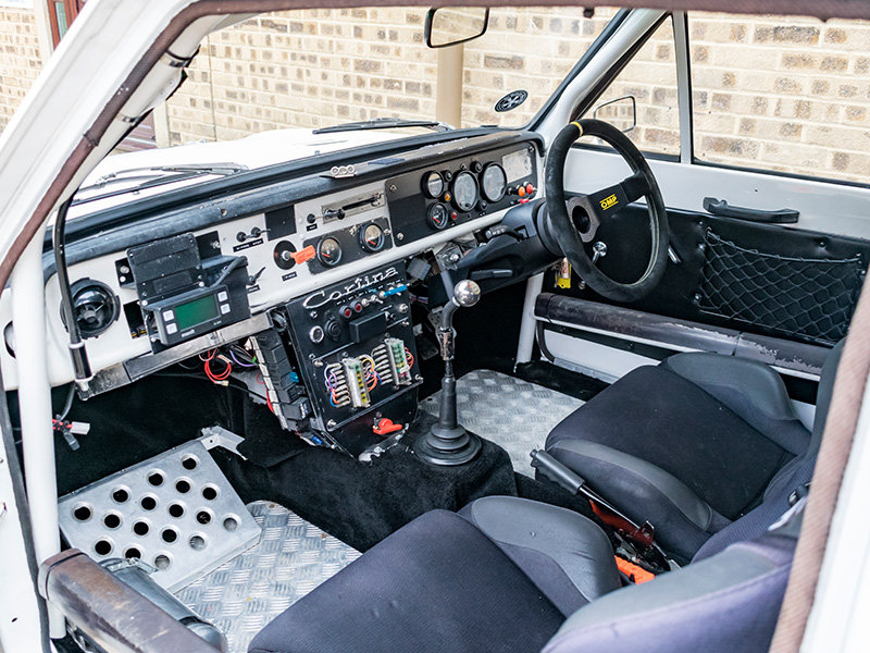 1967 2.0 Lotus Cortina Classic Rally Car For Sale (picture 5 of 6)