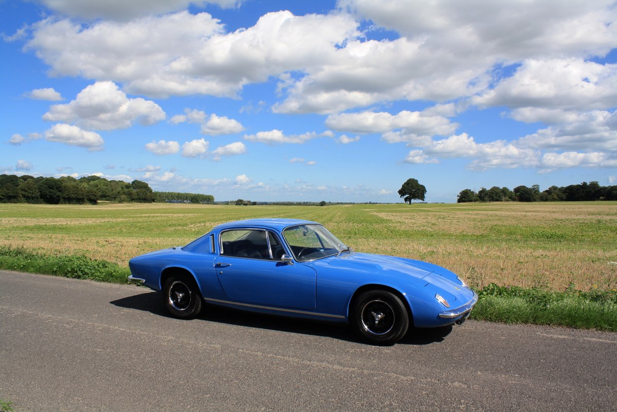 Lotus Elan + 2S, 1969. Exceptional example - French Blue SOLD (picture 1 of 6)