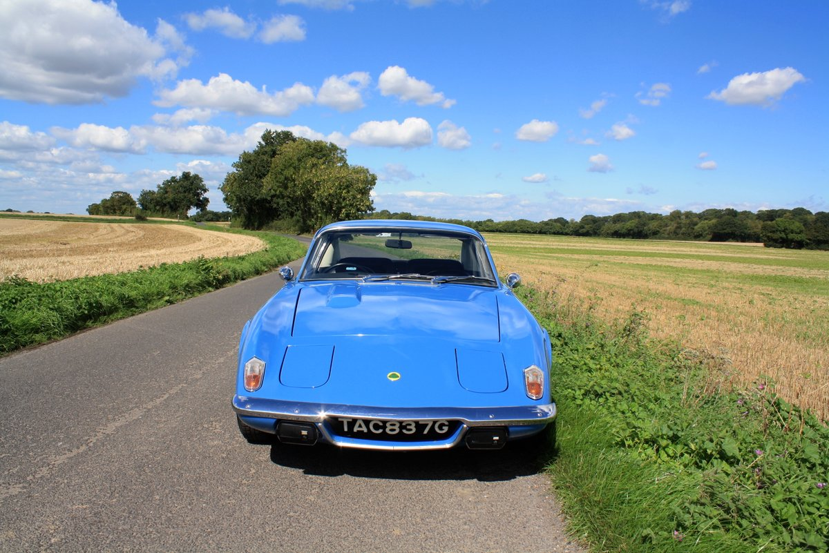 Lotus Elan + 2S, 1969. Exceptional example - French Blue SOLD (picture 2 of 6)