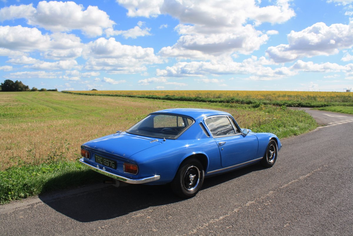 Lotus Elan + 2S, 1969. Exceptional example - French Blue SOLD (picture 3 of 6)