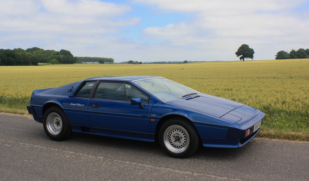 1987 Lotus Esprit Turbo HC Limited Edition No.10 of 21. SOLD (picture 1 of 6)