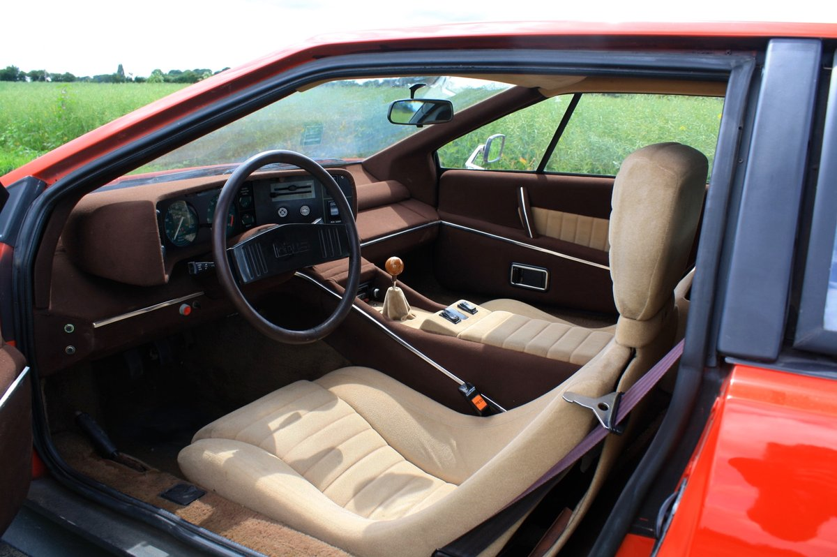 Lotus Esprit S1 LHD, 1977.  23,000 miles from new.  For Sale (picture 4 of 6)