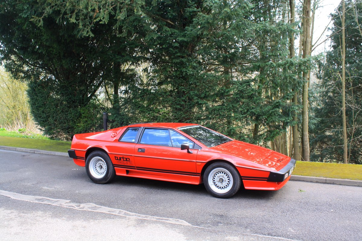 Lotus Esprit Turbo, 1983. Superb example in Calypso Red  For Sale (picture 1 of 6)