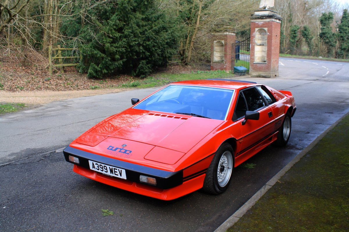 Lotus Esprit Turbo, 1983. Superb example in Calypso Red  For Sale (picture 3 of 6)