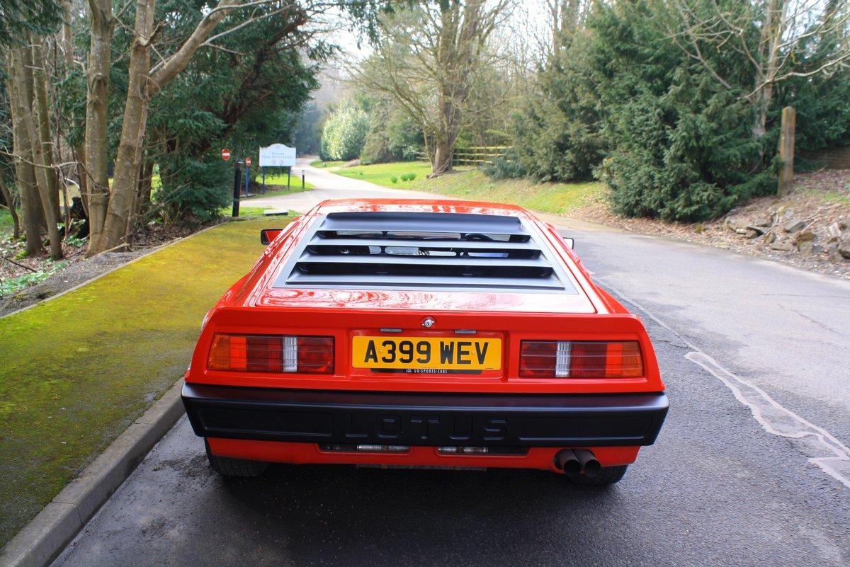 Lotus Esprit Turbo, 1983. Superb example in Calypso Red  SOLD (picture 2 of 6)