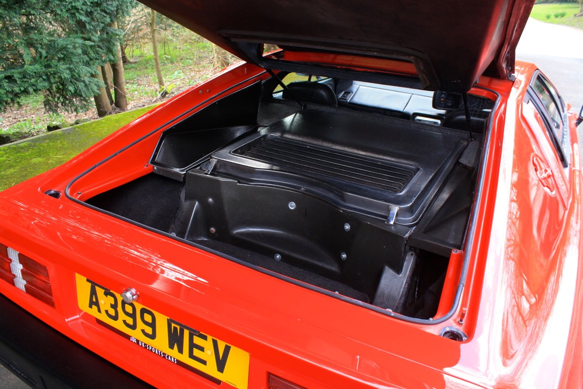 Lotus Esprit Turbo, 1983.  Superb example in Calypso Red  SOLD (picture 4 of 6)