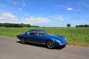 Lotus Elan+2S, 1970. Lagoon Blue Metallic + Black Interior For Sale