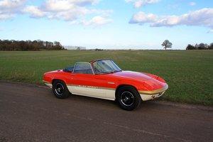 Lotus Elan Sprint DHC, 1972.  Fabulous in iconic Team Lotus  For Sale