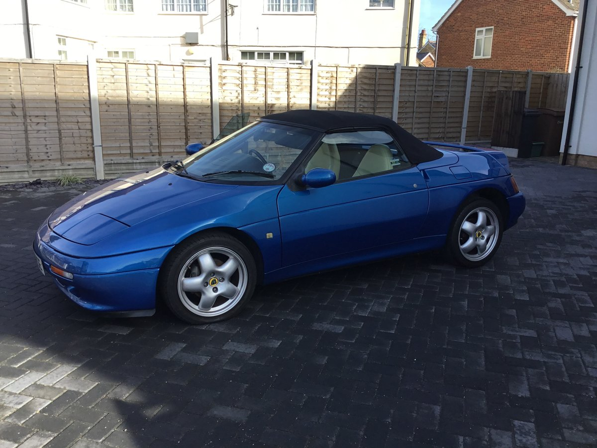 1994 Blue Lotus Elan S2 Limited Edition number 232 SOLD (picture 4 of 6)