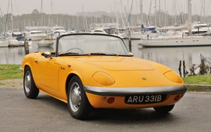 1964 Lotus Elan S1 freshly restored For Sale by Auction