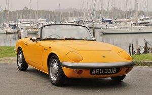 1964 Lotus Elan S1 freshly restored
