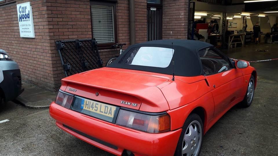 Lotus Elan SE Turbo 1990 M100 - SALE AGREED SOLD (picture 3 of 6)