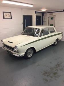1964 LOTUS CORTINA MK1.PRE-AIRFLOW.