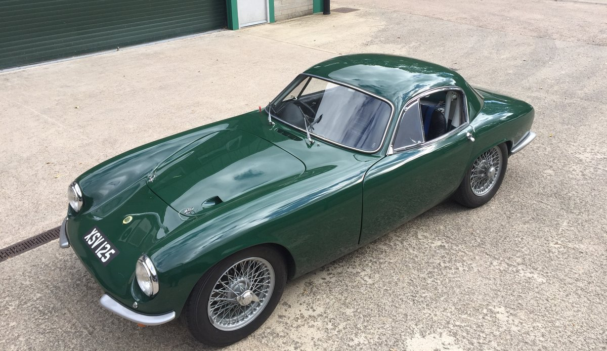1961 Lotus Elite S2 with FIA Historic papers For Sale (picture 1 of 6)