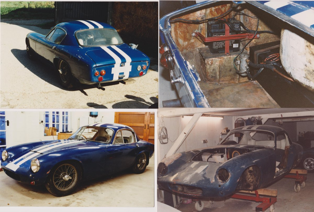 1961 Lotus Elite S2 with FIA Historic papers For Sale (picture 4 of 6)