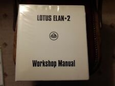 Workshop Manual - Lotus Elan +2 For Sale
