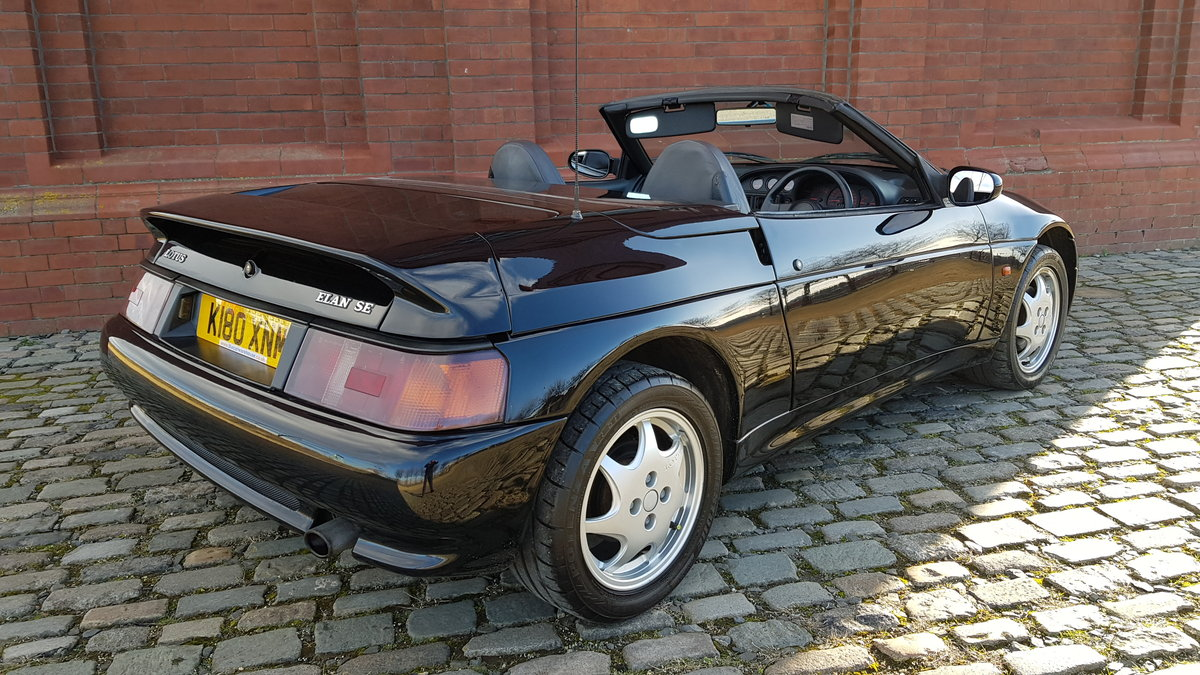 1992 LOTUS ELAN 1.6 SE TURBO CONVERTIBLE * ONLY 24000 MILES For Sale (picture 2 of 6)