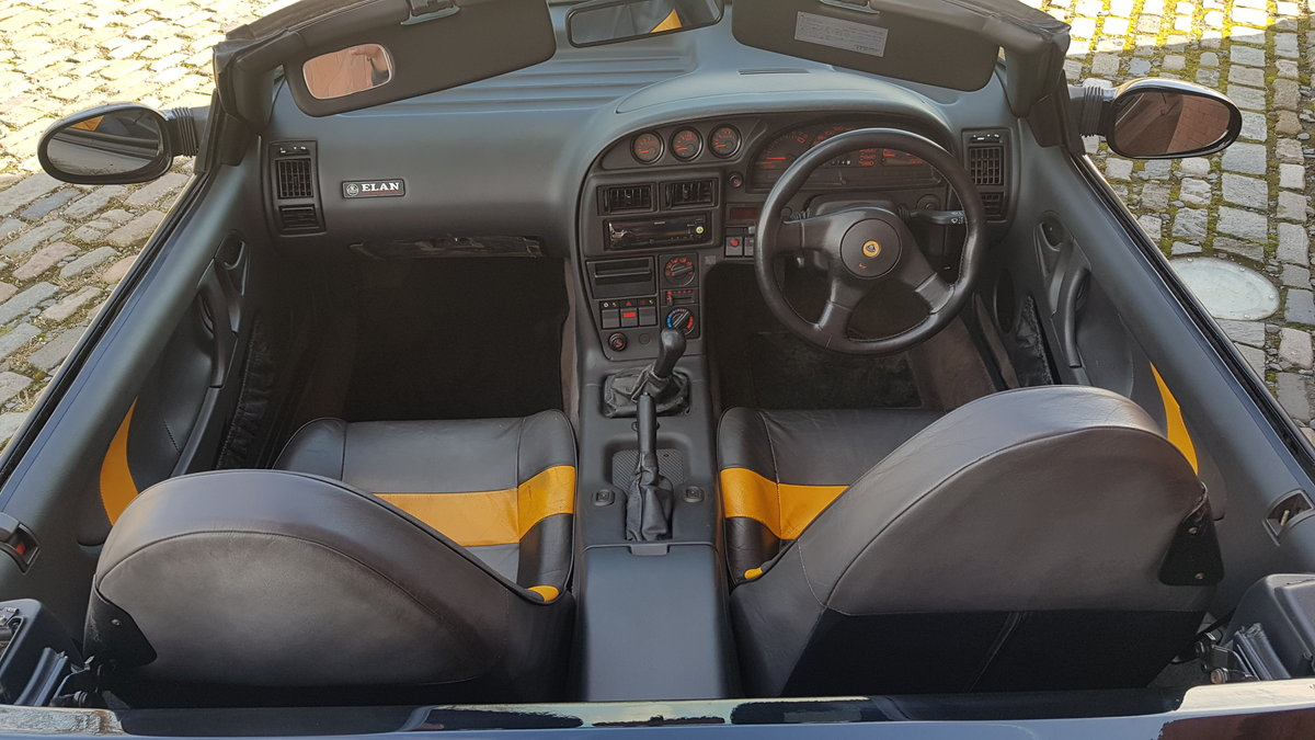 1992 LOTUS ELAN 1.6 SE TURBO CONVERTIBLE * ONLY 24000 MILES For Sale (picture 4 of 6)