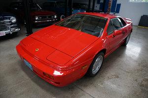 1989 Lotus Espirit SE Turbo with 17K original miles SOLD