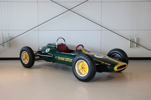 Lotus Formula I Jim Clark Junior Car