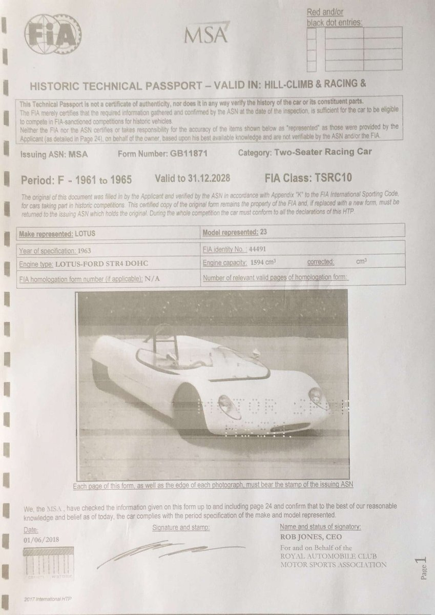 1963 Lotus 23B For Sale (picture 7 of 8)