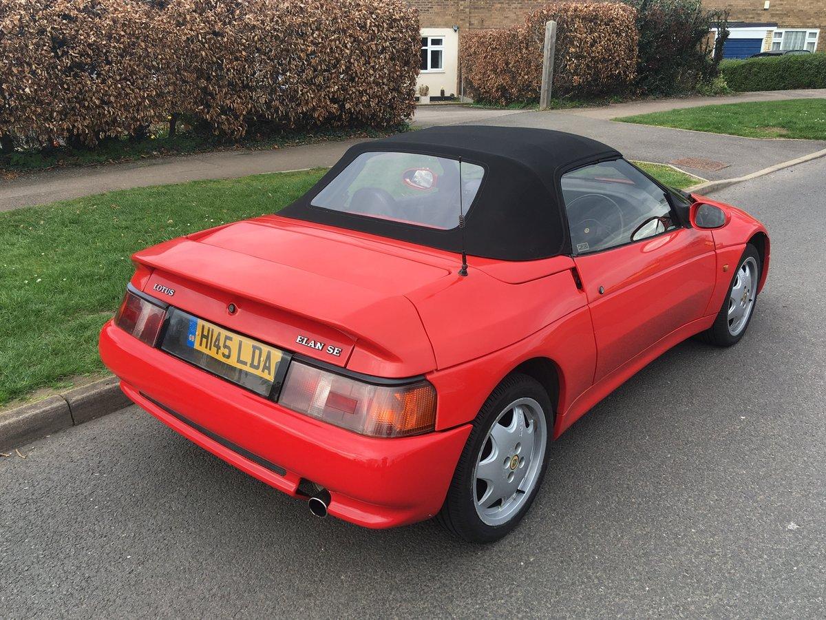 Lotus Elan SE Turbo 1990 M100 - SALE AGREED SOLD (picture 6 of 6)