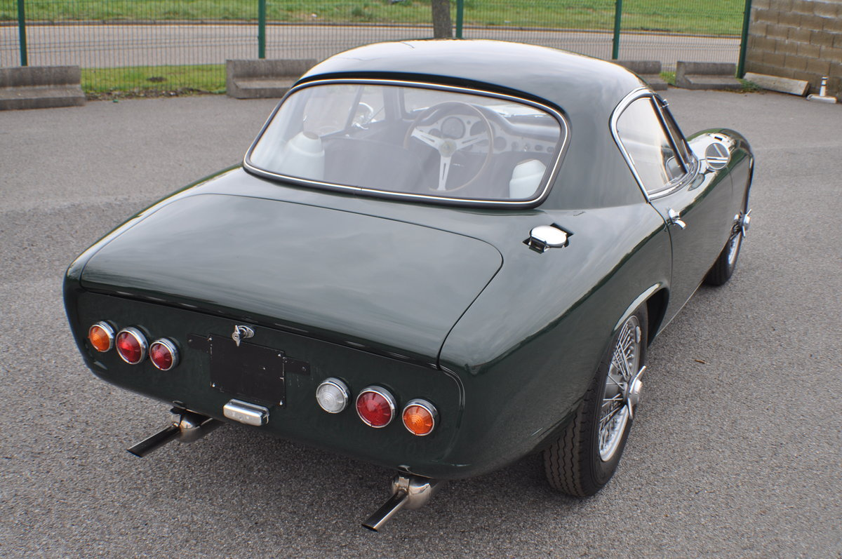 Lotus Elite 1963 British Racing Green SOLD (picture 4 of 6)