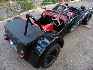 1962 Lotus Super Seven America = Series II 7a  Black  $39k