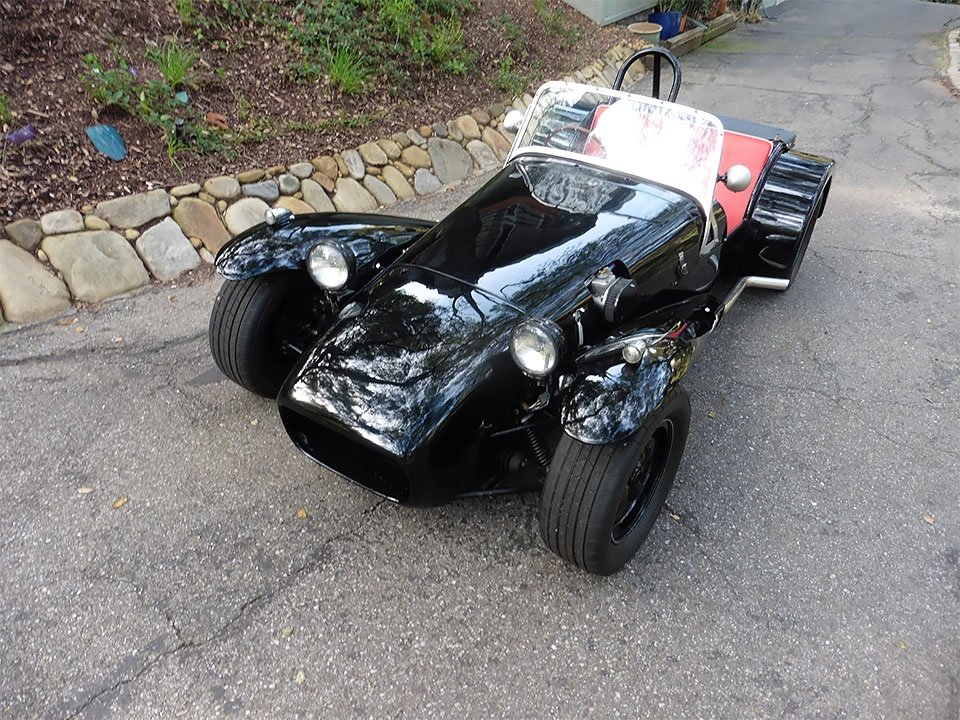1962 Lotus Super Seven America = Series II 7a  Black  $39k For Sale (picture 3 of 6)