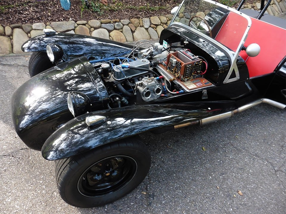 1962 Lotus Super Seven America = Series II 7a  Black  $39k For Sale (picture 6 of 6)