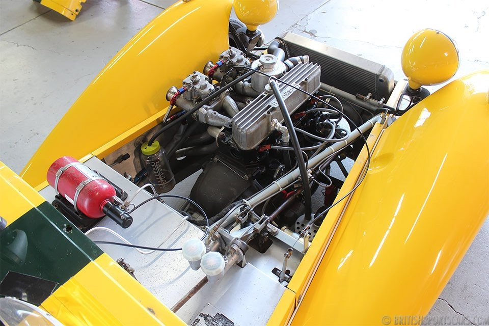 1962 Lotus Super Seven =Yellow driver fresh engine $39k For Sale (picture 4 of 6)