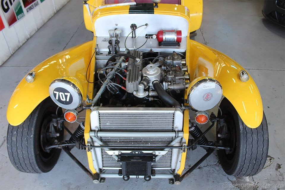 1962 Lotus Super Seven =Yellow driver fresh engine $39k For Sale (picture 5 of 6)