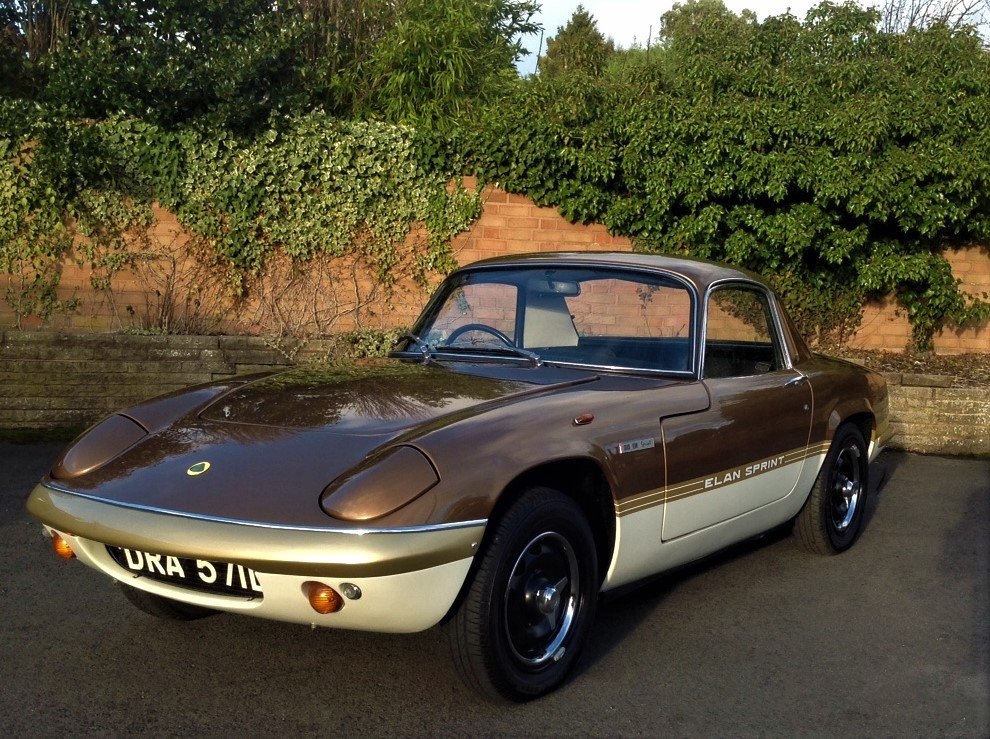 1973 Lotus Elan Sprint FHC For Sale (picture 1 of 6)
