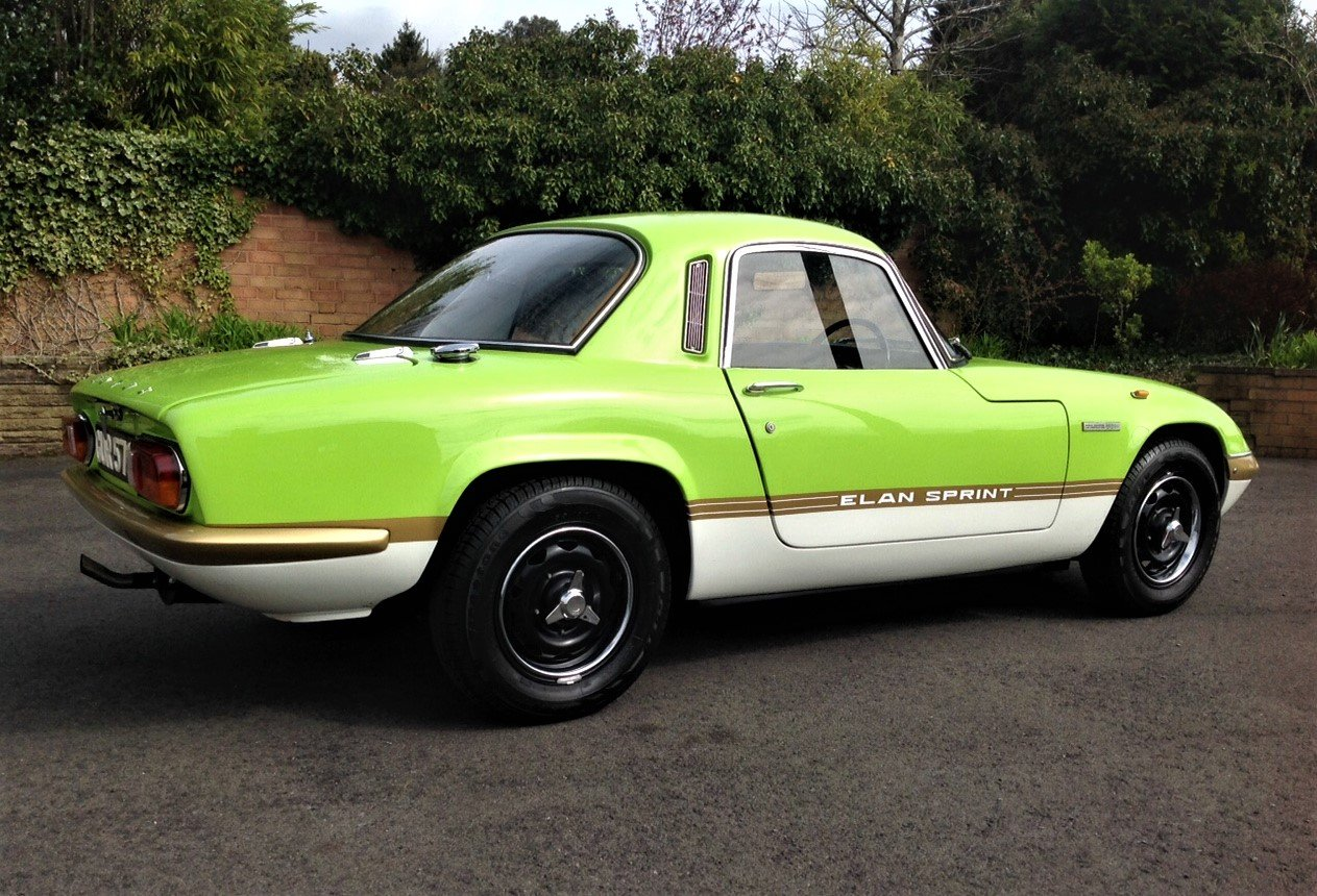 1972 Lotus Elan FHC Sprint For Sale (picture 2 of 6)