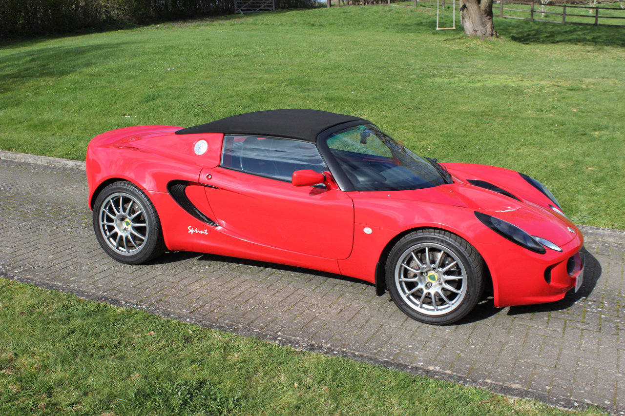 2002 Lotus Supercharged Honda Elise Sprint - 20,000miles SOLD (picture 1 of 6)